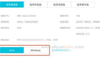 阿里云虚拟主机操作系统选择Linux还是Windows?